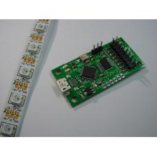 WS2812 usb controller