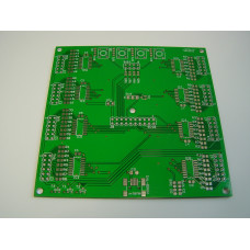 RGB clock - PCB with Components