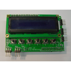 Raspberry Pi User Interface with 16 x 2 LCD