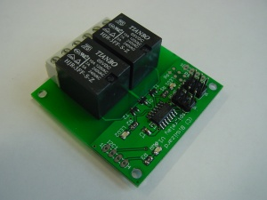 The SPI_relay board